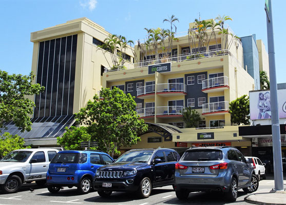 Unser Hotel in Cairns....