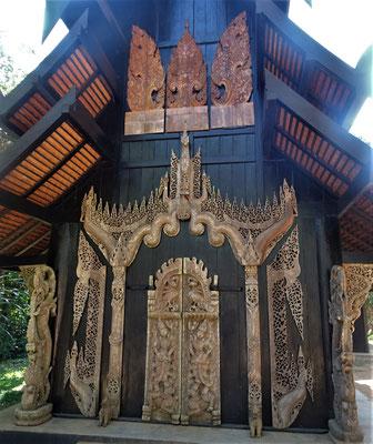 Der Eingang zum Gästehaus....