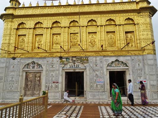 ...für den goldenen Tempel hielten.