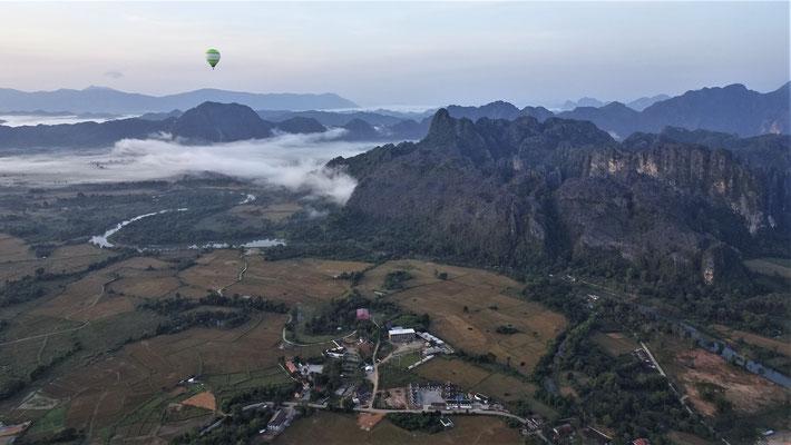 .....Vang Vieng und die Landschaft......