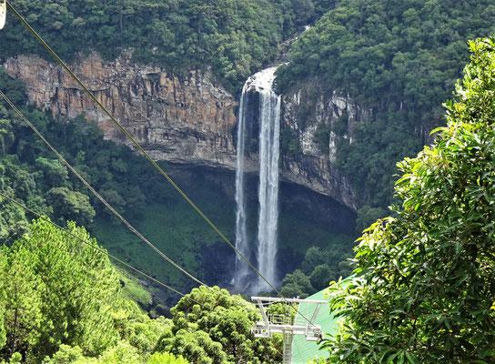 .....Caracol Wasserfall.