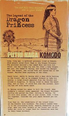 Die Legende der Komodo Warane.