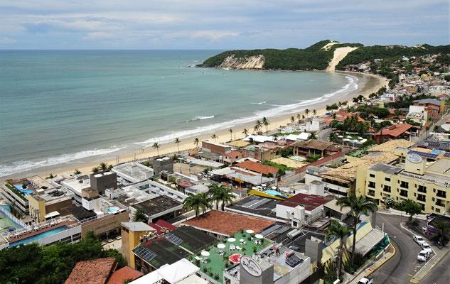 .....die Ponta Negra Bucht.