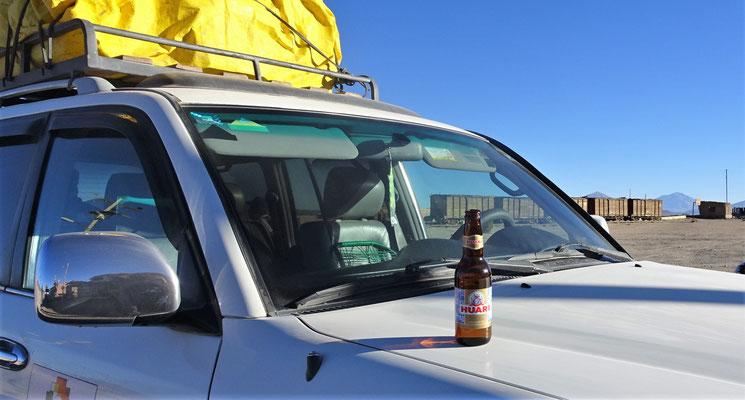 Das gute Bolivianische Bier.