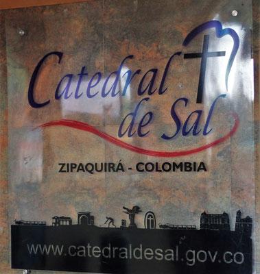 Die Salzkathedrale von Zipaquira.