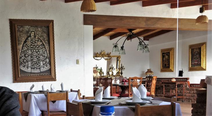 Der Restaurant Bereich.