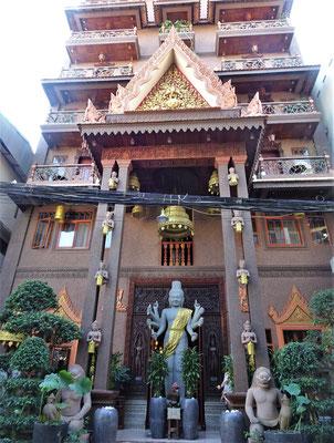 Das Okay Boutique Hotel in Phnom Penh.