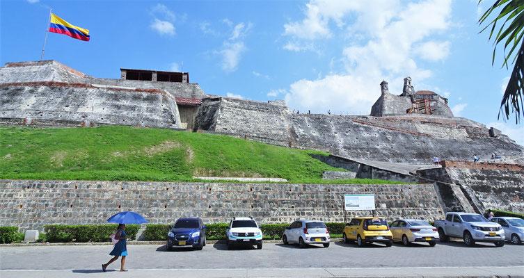 Die Festung San Felipe.....