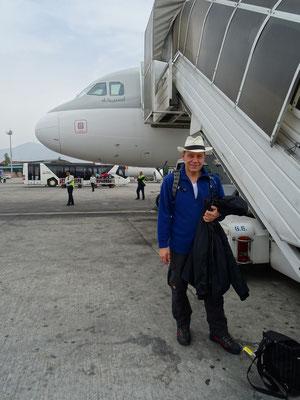 Ankunft in Kathmandu
