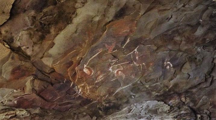 ....alten Malereien die.....