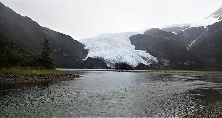 Der Aguila Gletscher.