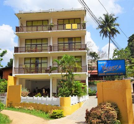 Unser Hotel Vacanza in Mirissa.