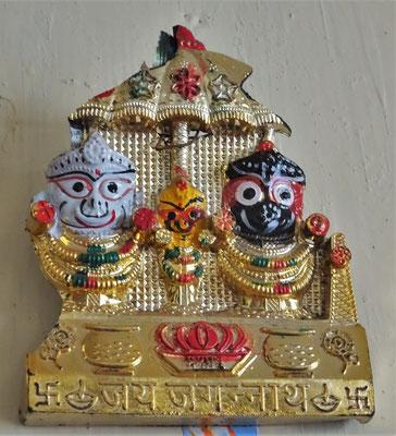 Balapthra (Weiss), Subatra (Gelb), Jagarnnath (Schwarz)