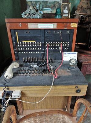 Die Telefonstation....