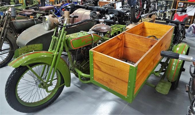Eine Harley aus dem Jahr 1919.....