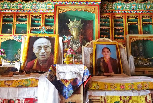 Immer wieder der Dalai Lama