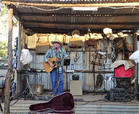 Der Country Sänger Tom....