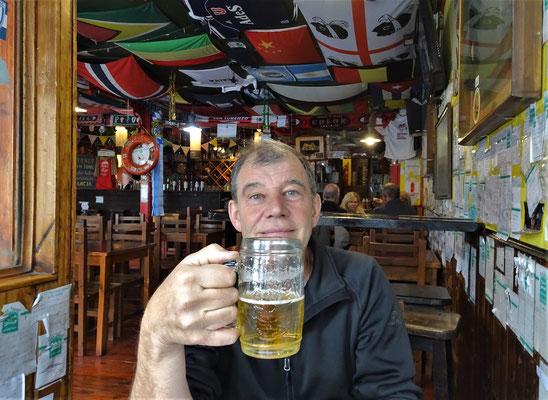 ....und dem Bier.