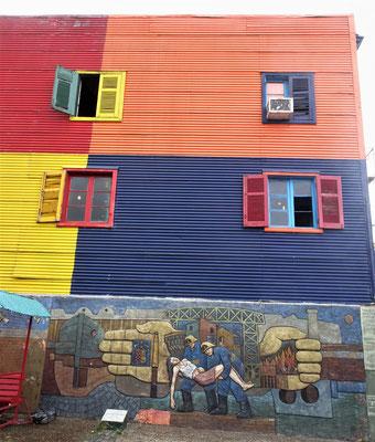 Caminito, das Künstler-Quartier.....