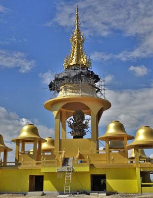 Dieser Ganesh Tempel ist noch im Bau.