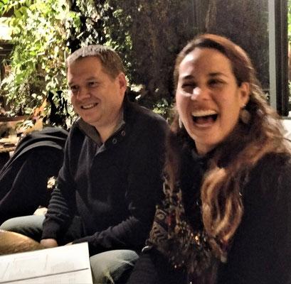 Mit Katy und Manuel......