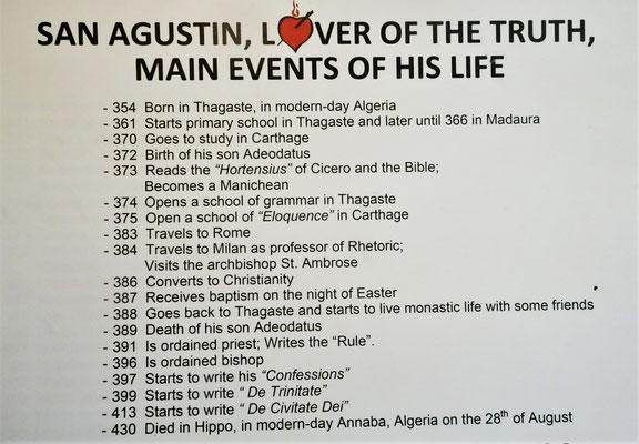 Die Gründung des Augustiner Orden.