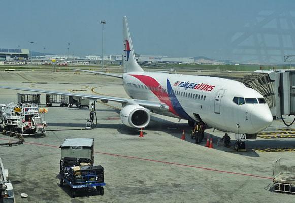 Abflug nach Medan