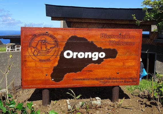Orongo war eine....