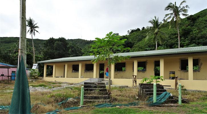 Ein neues Schulgebäude wird gebaut....