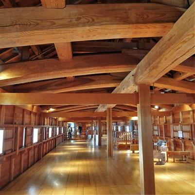 Eindrückliche Holzkonstruktion......