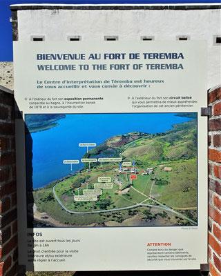 Im Fort Teremba wurde Geschichte geschrieben.