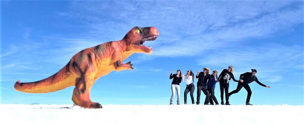 Aahhhh ein Dino...