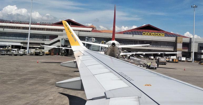 Wir verlassen Cebu.