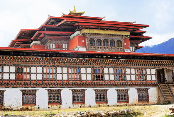 Der Gangtey Tempel...