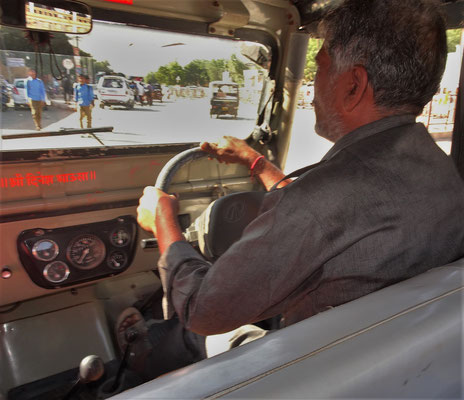 Kamal unser Jeep-Fahrer
