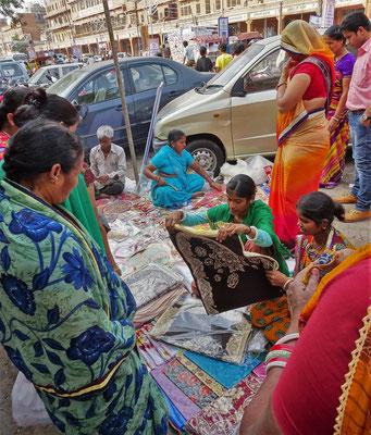 Auch ein neuer Sari darf es sein...