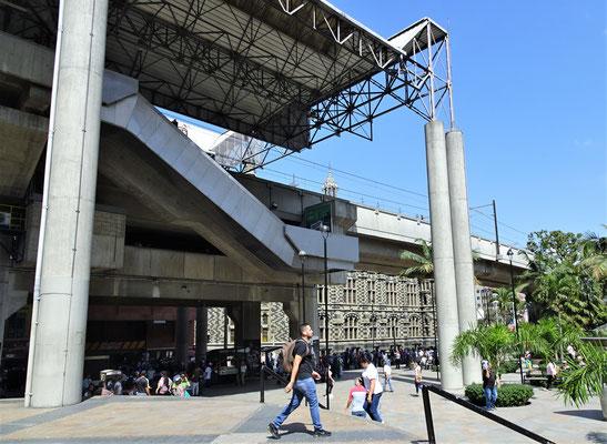 Die Metrostation.....