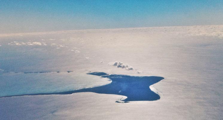 Eine Insel in Manta Form.