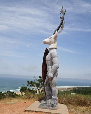 Das Surfer Denkmal von 2016.