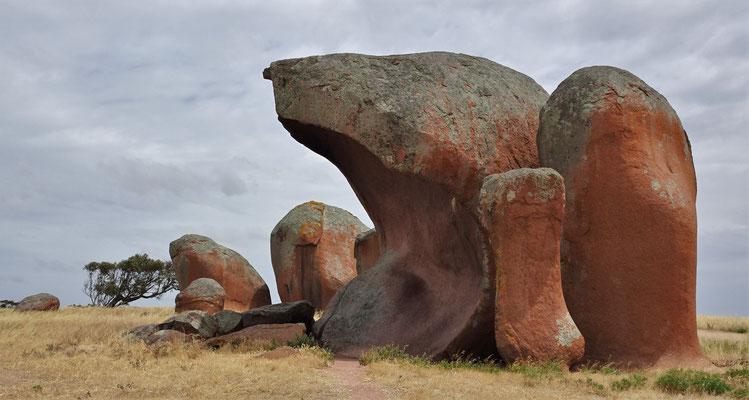 Eine ganz spezielle Felsengruppe.....