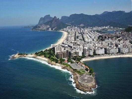 Das Fort Copacabana.