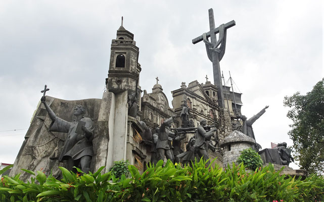 Das Cebu Heritage Monument....