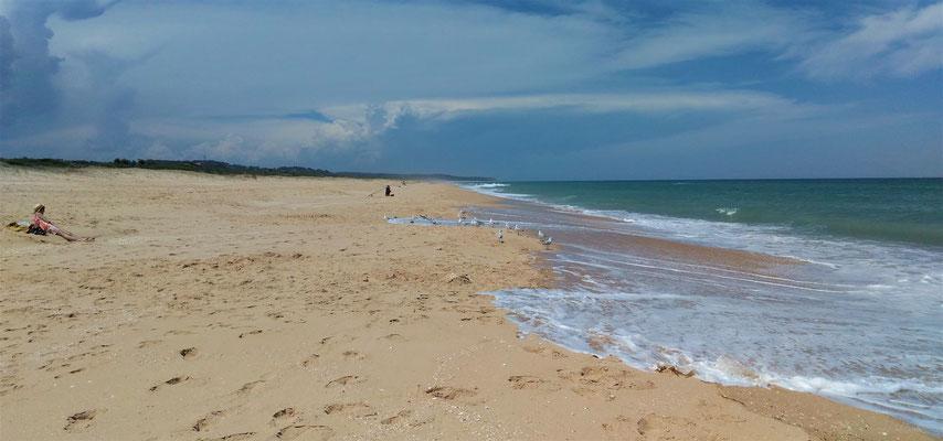 ....mit der Ninety Mile Beach.