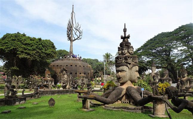 Der Buddha Park....