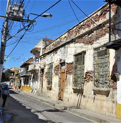 Das Zentrum von Santa Marta.