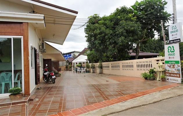 .....wir das Hotel mit anderem Namen in Chiang Khan.