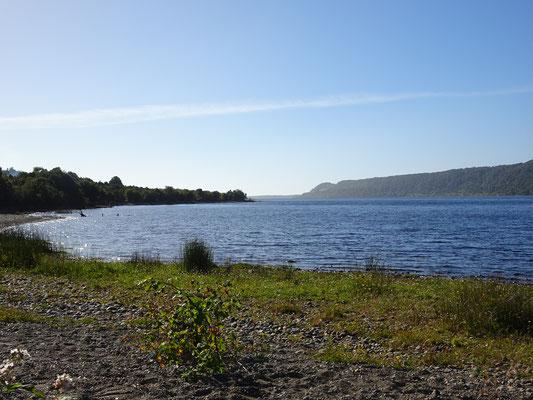 .......am See in der Nähe von Cucao.