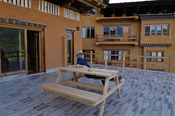 Unser Hotel Lobesa in Phunaka...