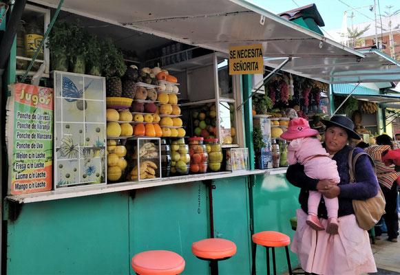 Viele kleine Shops in......