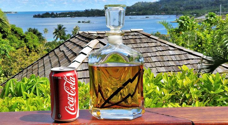 .....Vanilla-Rum mit Cola.